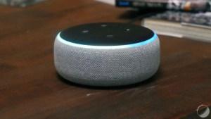 Au lieu de 59,99 euros, l'enceinte Amazon Echo Dot passe à 24,99 euros