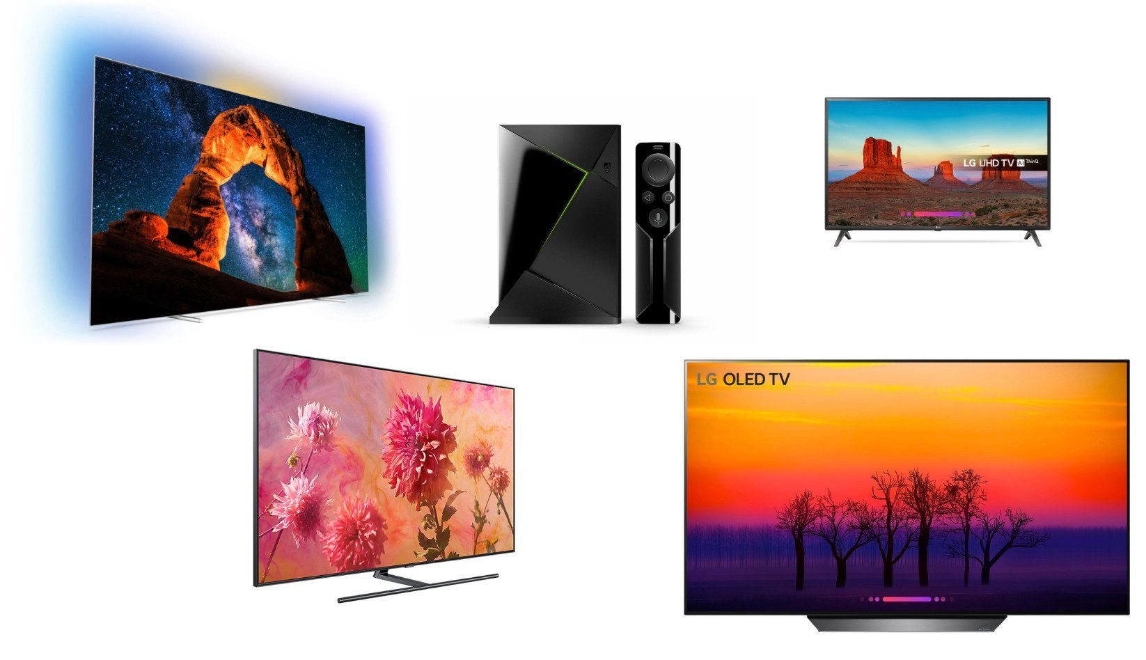 Les meilleures offres de TV 4K HDR (OLED, QLED, VA) pour le Black Friday 2018