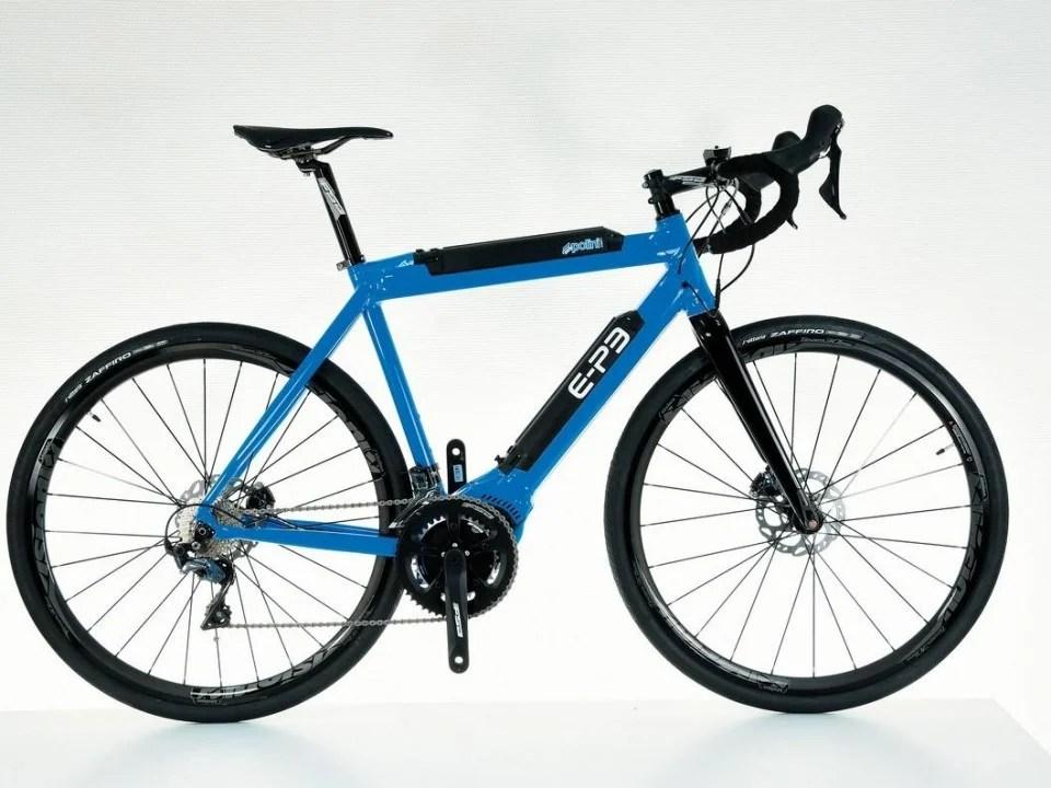 Polini E-P3 : 420 km d'autonomie pour ce vélo de course électrique italien