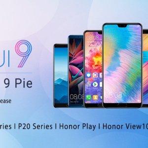 EMUI 9.0 : Android 9 Pie arrive sur 7 smartphones Huawei et Honor