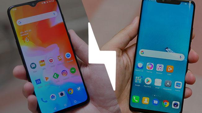 OnePlus 6T vs Huawei Mate 20 Pro : lequel est le meilleur smartphone ? – Comparatif
