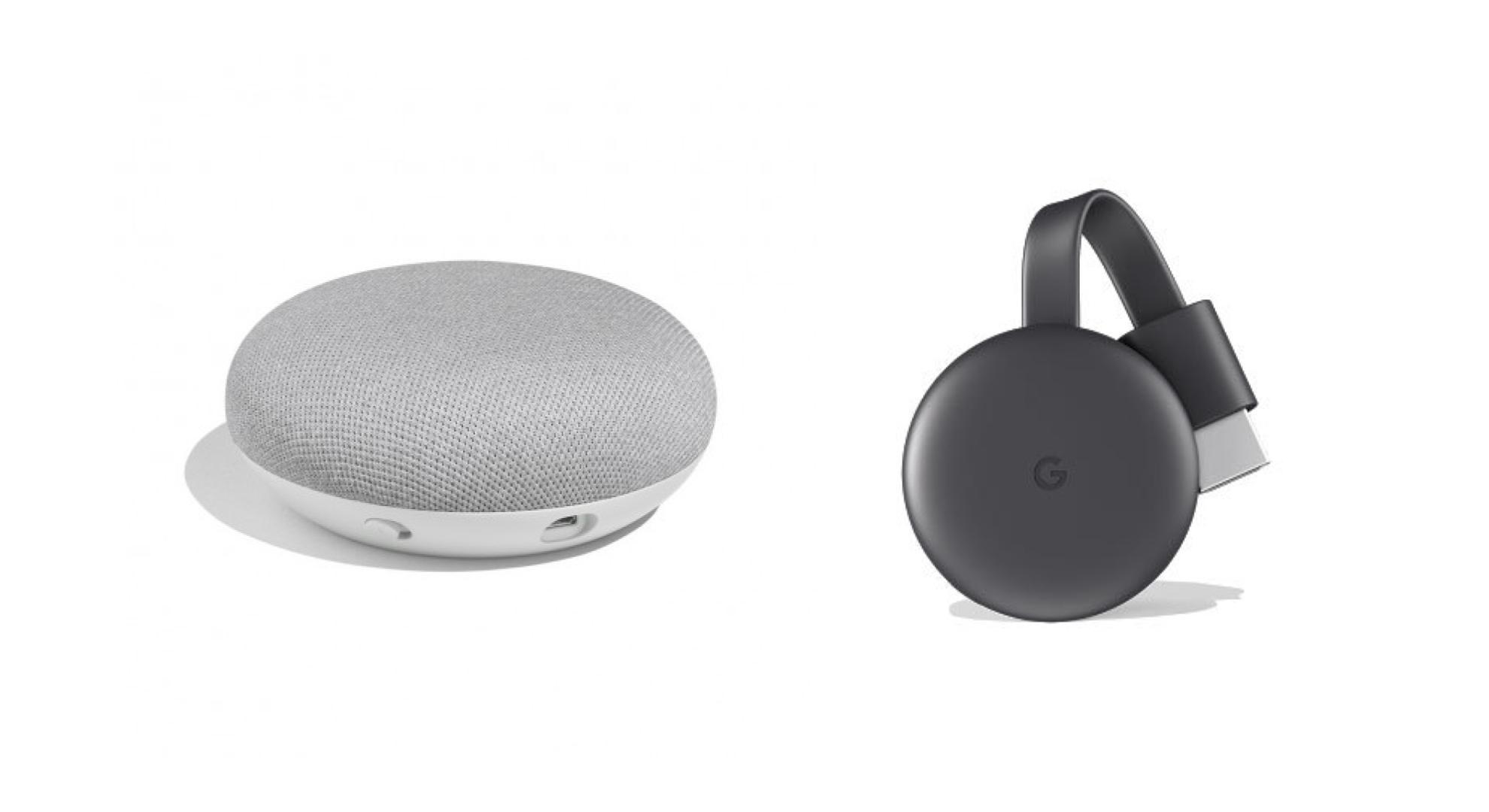 🔥 Bon plan : un pack Google Home Mini + Chromecast 3 à 75 euros sur Boulanger