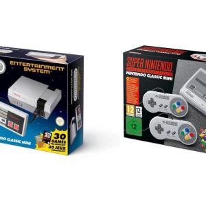 🔥 Bon plan : un pack NES et Super NES Classic Mini à 120 euros