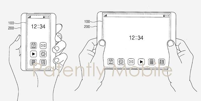Samsung invente un smartphone dont l'écran peut être étiré pour devenir une tablette
