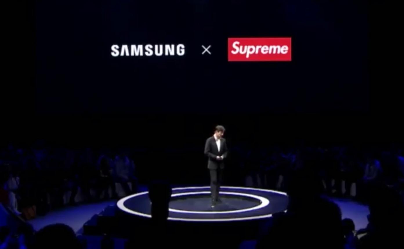 Contrefaçon : Samsung annule son contrat avec le faux Supreme
