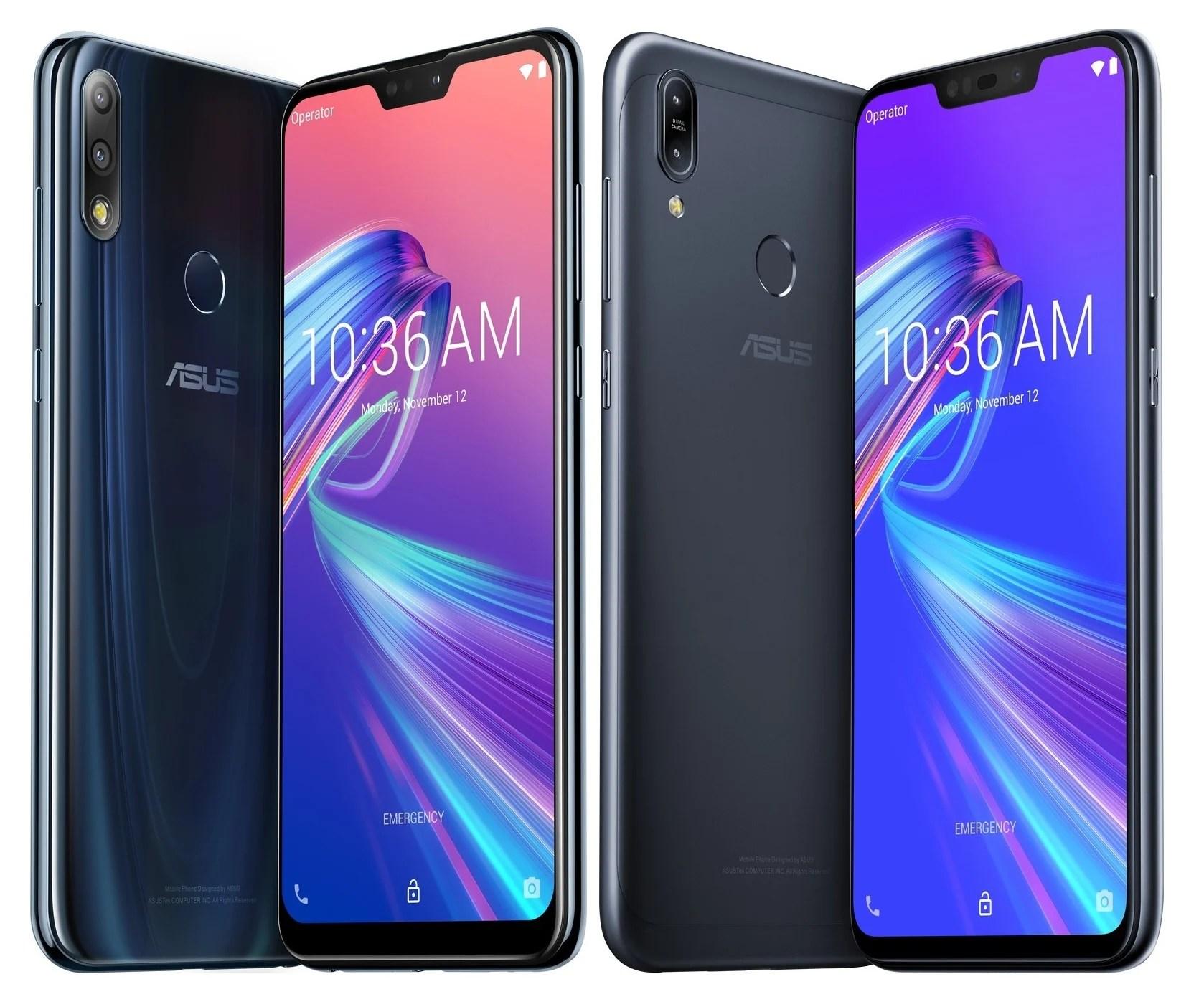 Asus Zenfone Max M2 et Max Pro M2 : ils sont officiels avant même leur présentation