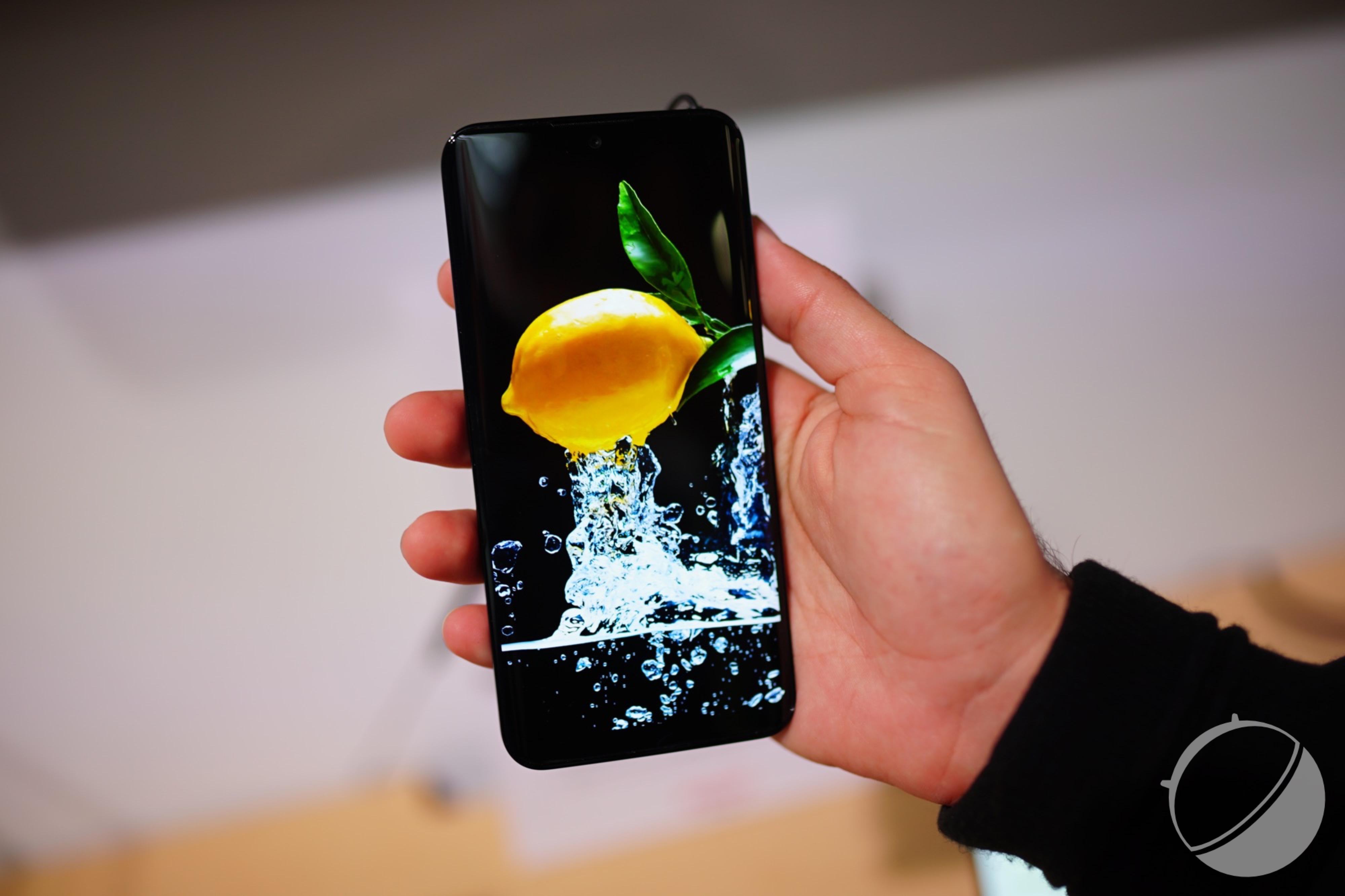 Samsung et LG ne sont pas les seuls à faire de l'OLED pour smartphones, voici le bel écran de Sharp