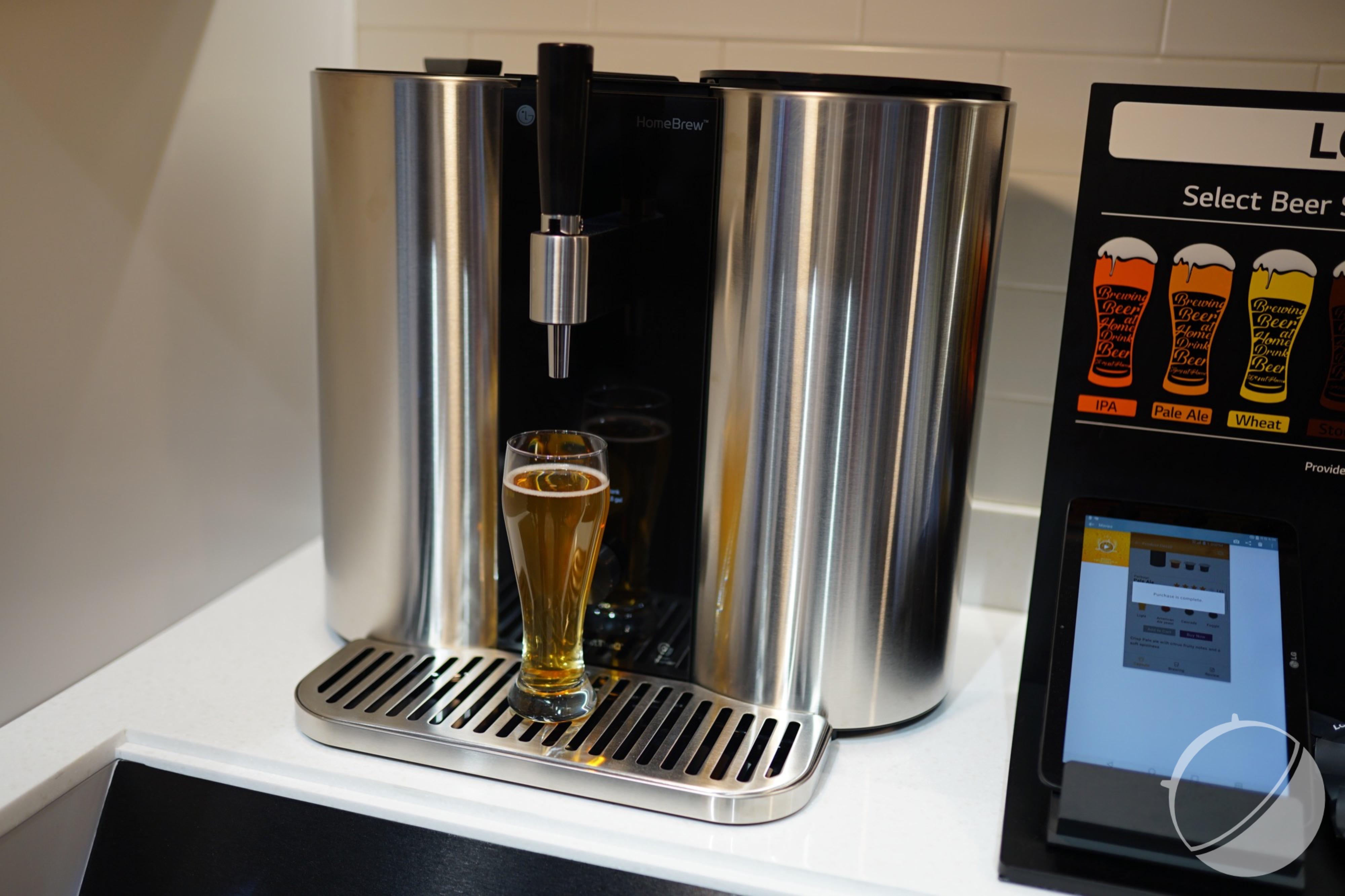 Voici la première micro-brasserie connectée pour fabriquer sa propre bière chez soi