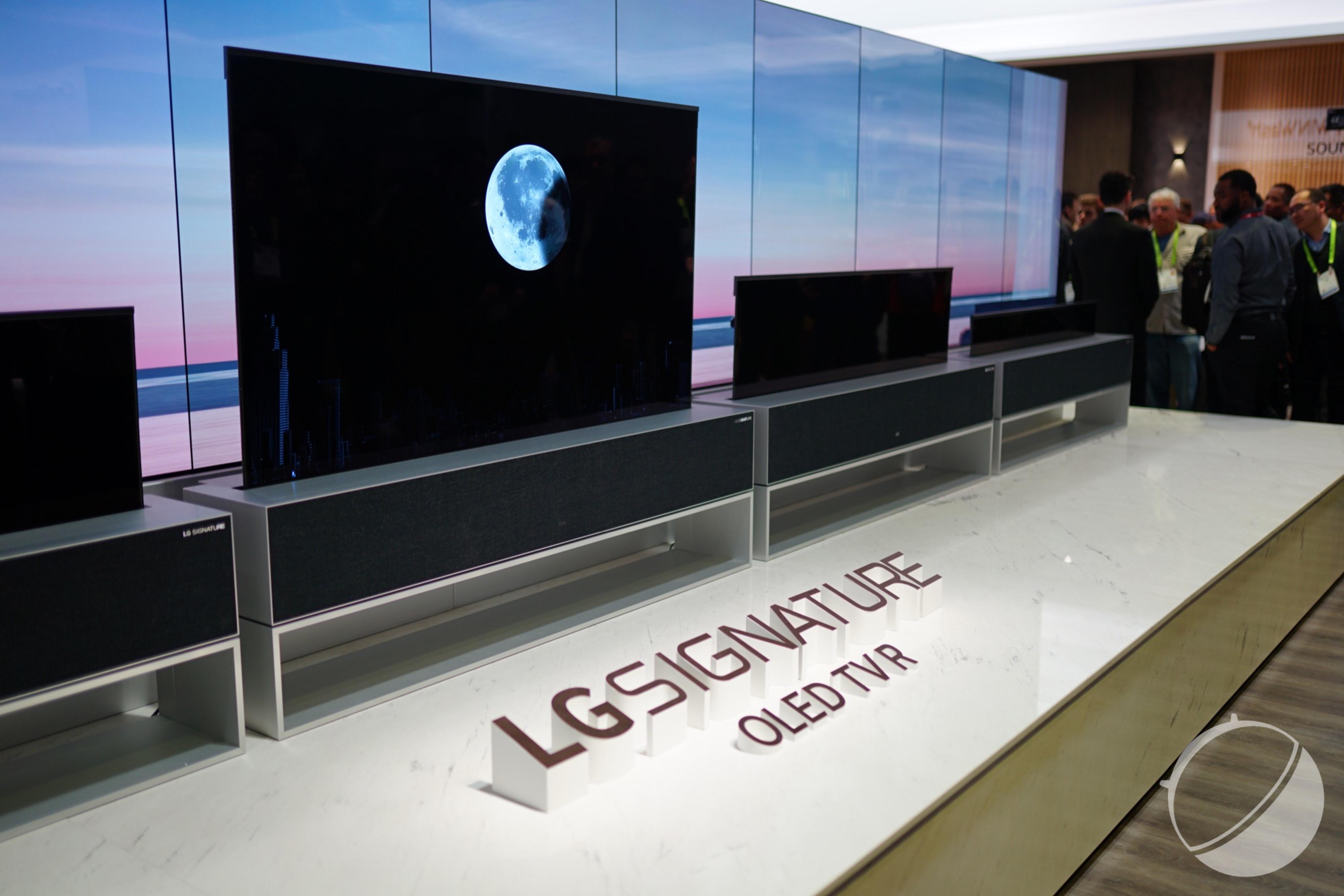 LG et sa TV OLED enroulable : quelle importance devriez-vous accorder à votre téléviseur ?