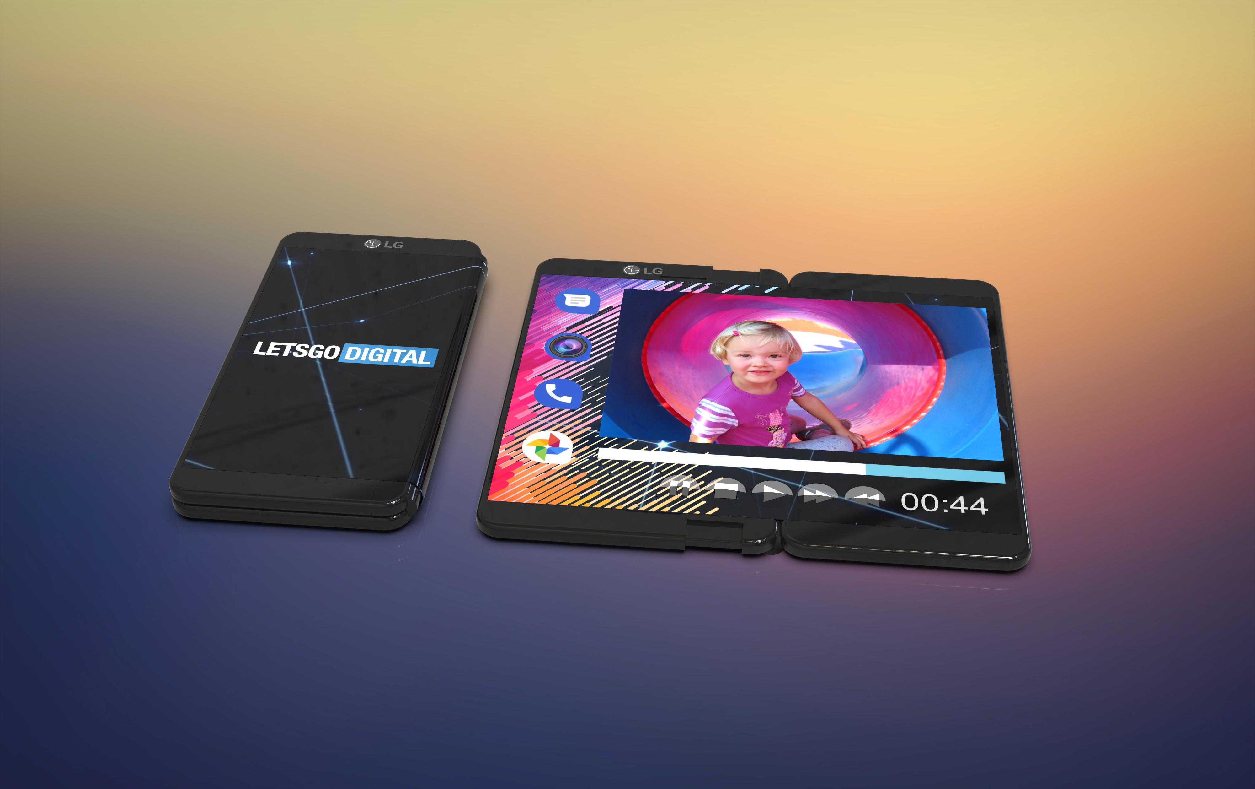 LG : son smartphone pliable serait extensible et rabattable