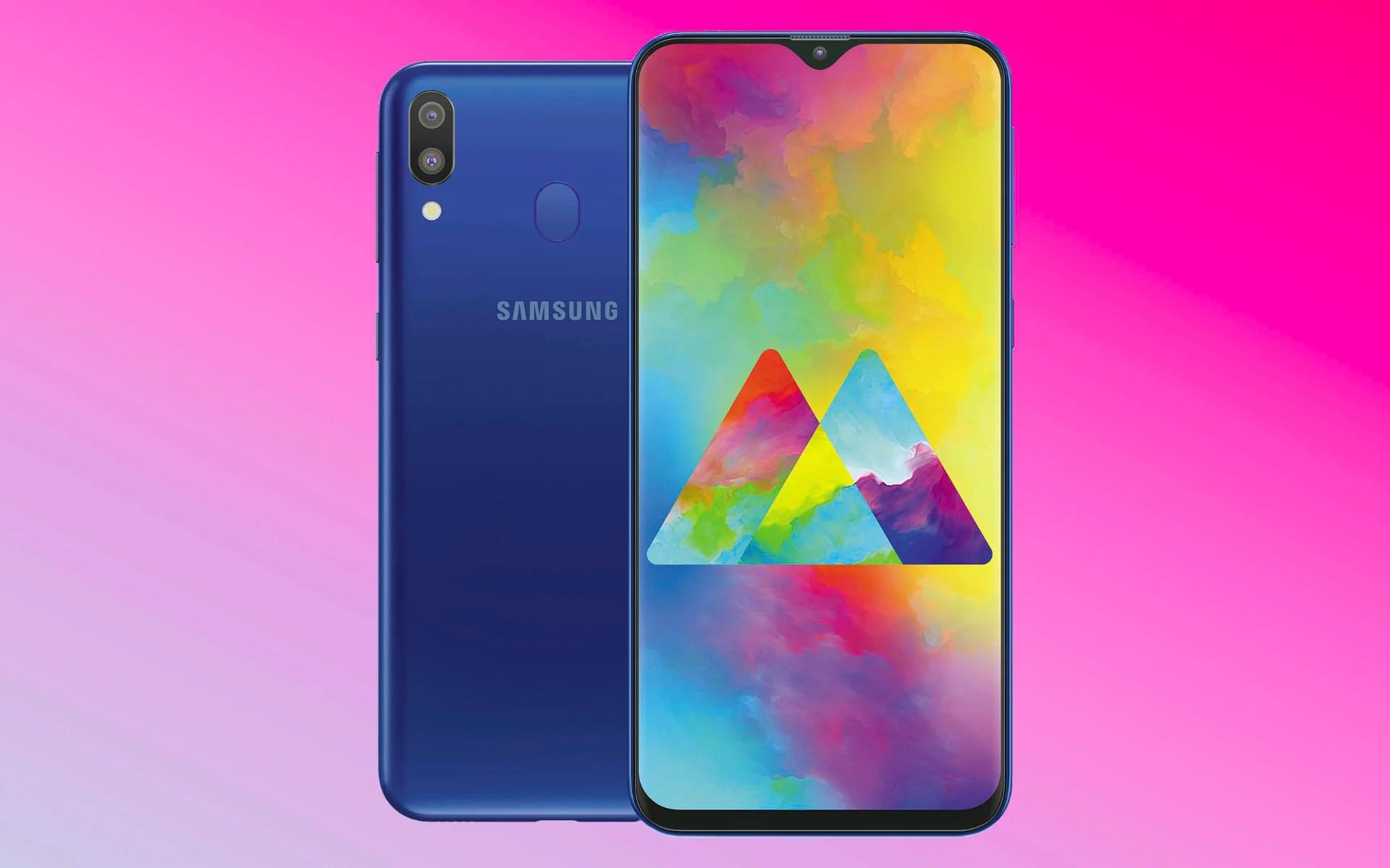 Galaxy M10 et M20 : les premiers smartphones à encoche de Samsung sont officiels, voici leurs caractéristiques