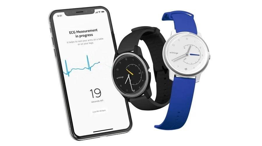 Withings dévoile la Move ECG : un électrocardiogramme dans une montre connectée hybride