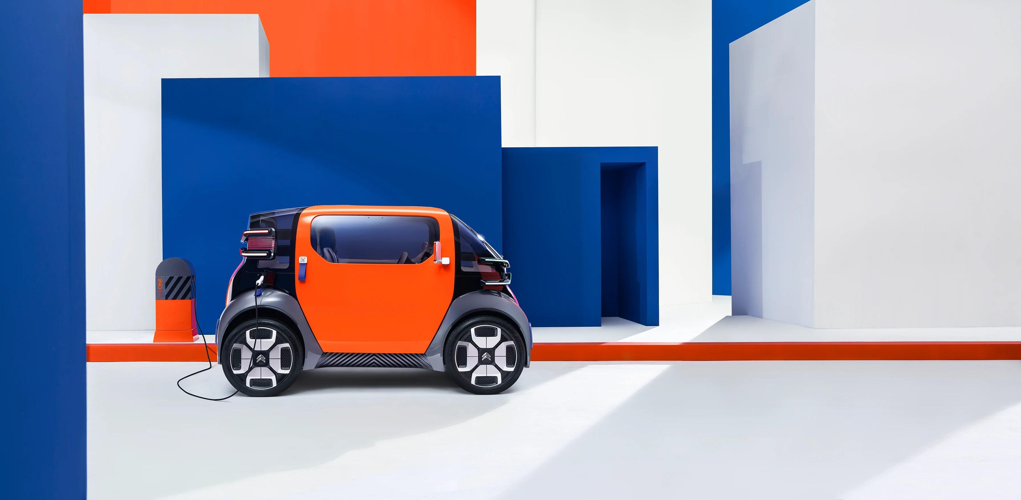 Citroën : ce concept de voiturette électrique est aussi moche que séduisant