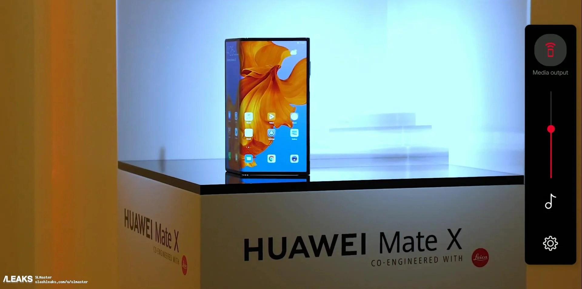 Huawei Mate X : le smartphone pliable de Huawei fuite à nouveau avant son annonce – MWC 2019