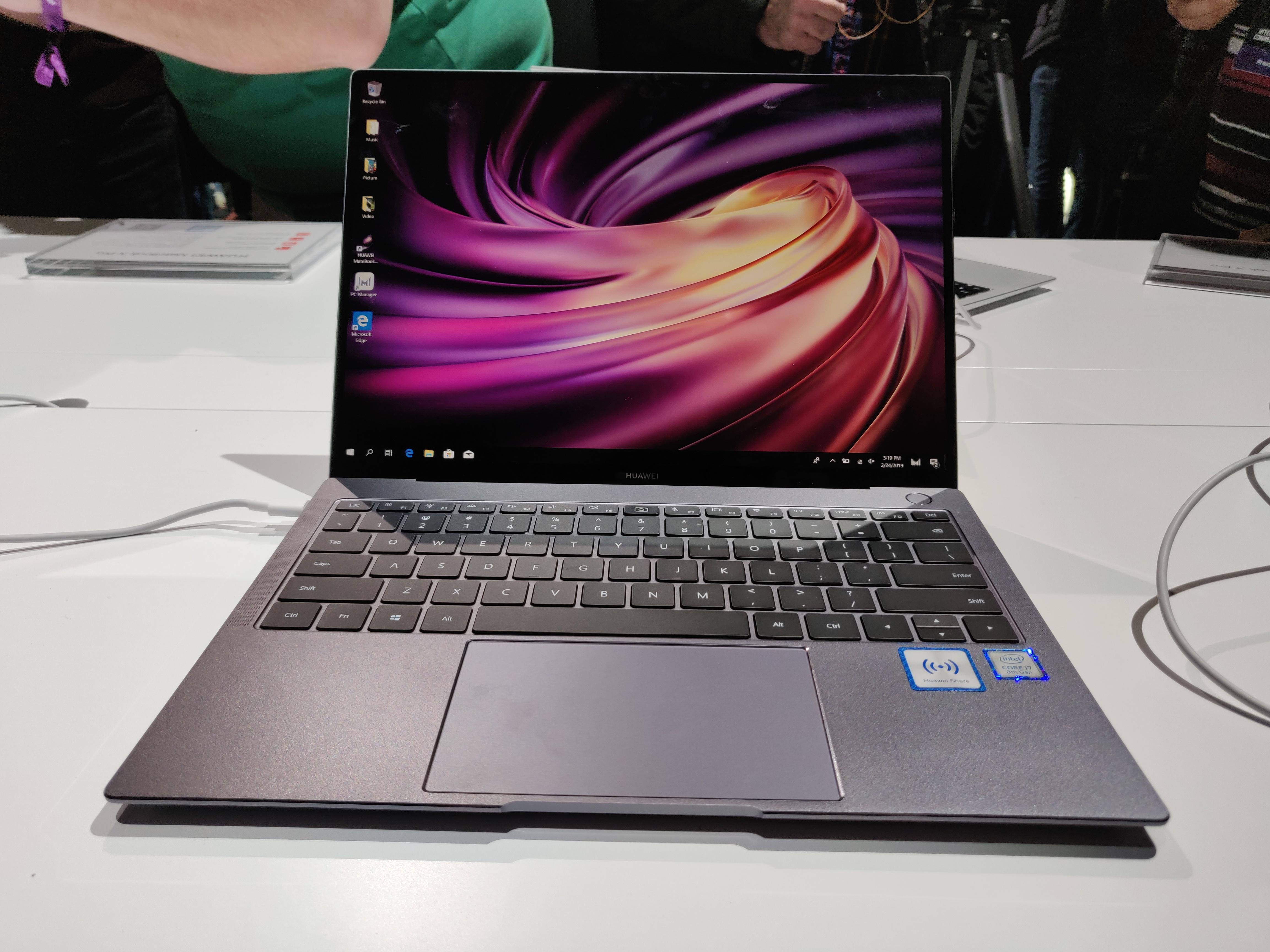 Huawei Matebook X Pro : un design similaire, mais des performances accrues