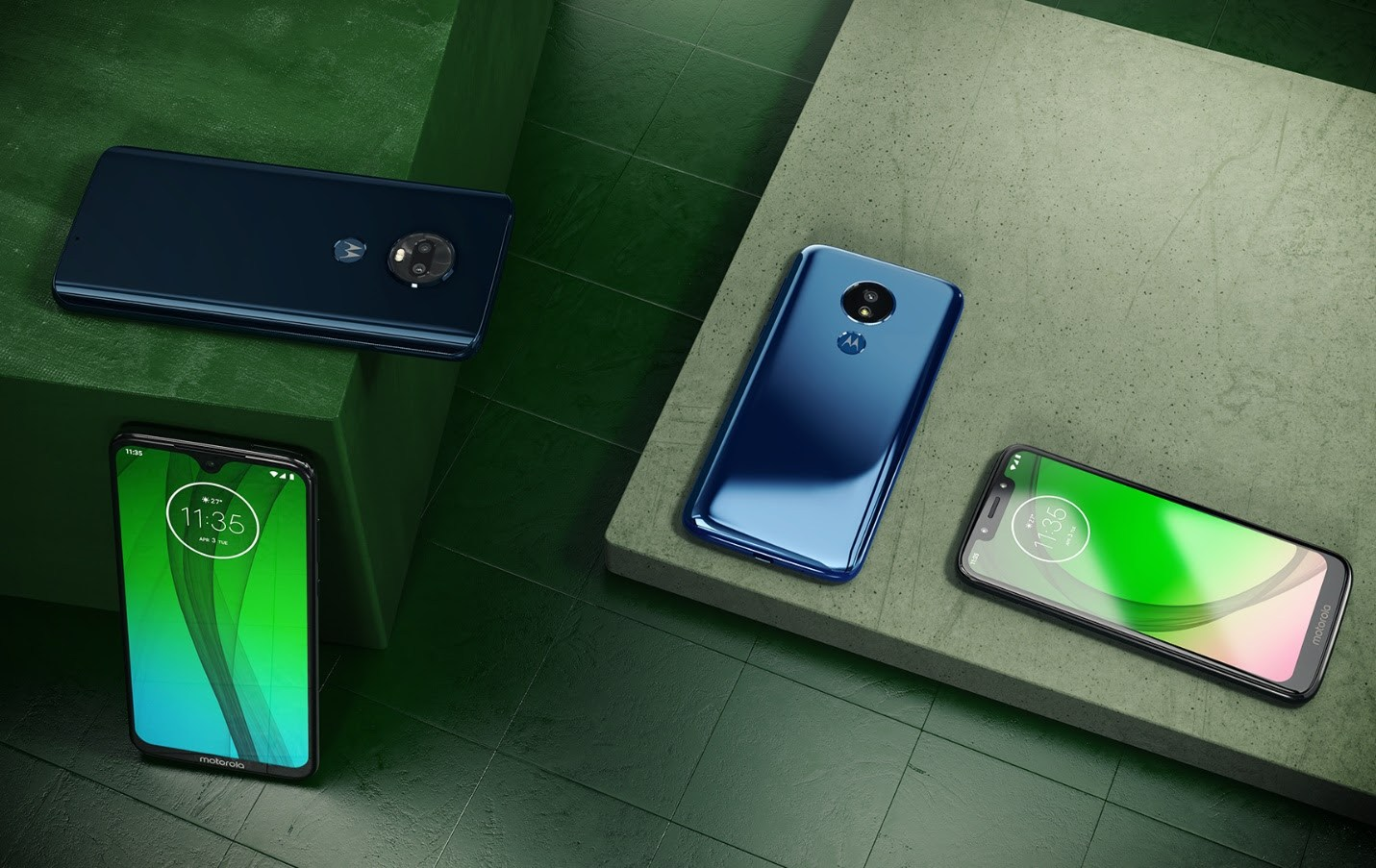 Motorola Moto G7, G7 Plus, G7 Play, G7 Power officialisés : images, caractéristiques et prix