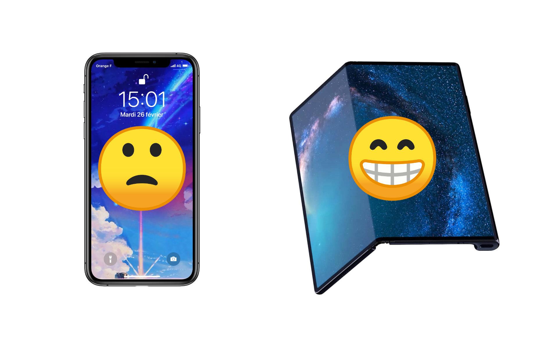 Au MWC 2019, plus personne ne veut copier Apple