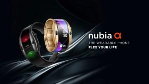 Nubia Alpha : l'étrange montre-smartphone à écran pliable est prête à la commercialisation – MWC 2019