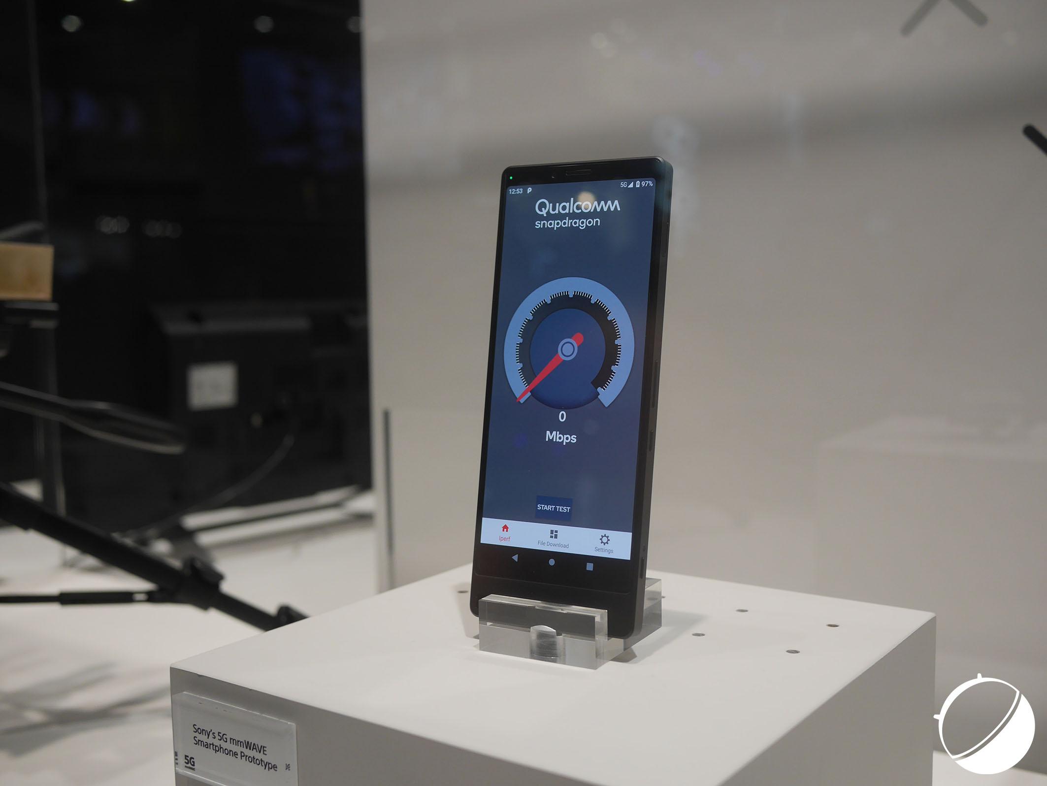 Sony a bien un smartphone 5G au MWC 2019, mais il ne s'agit que d'un prototype
