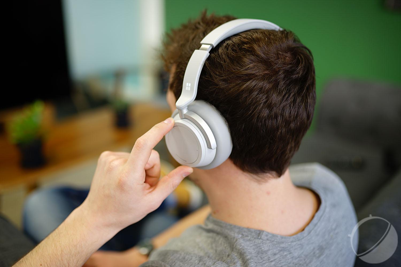 Test du Microsoft Surface Headphones : heureusement, il y a l'amie molette