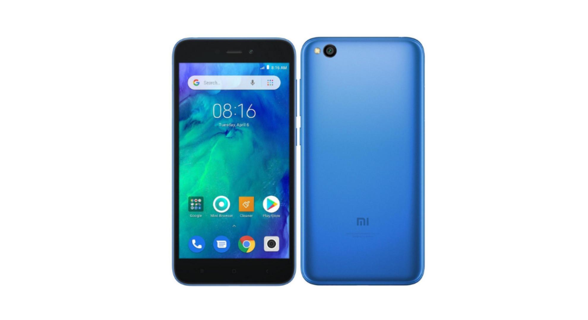 🔥 Bon plan : le nouveau Xiaomi Redmi Go est disponible à 53 euros (au lieu de 99 euros)