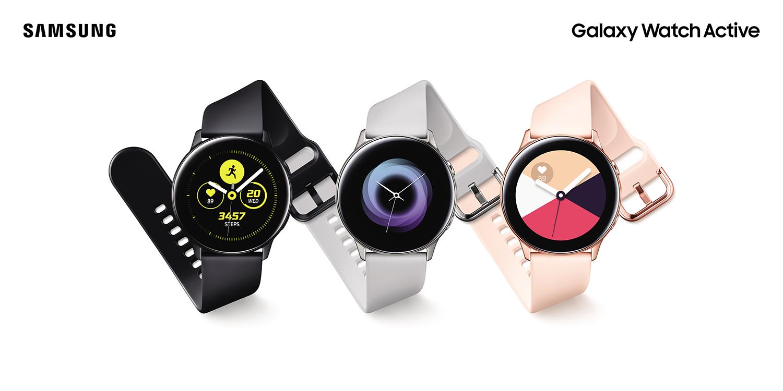 Samsung Galaxy Watch Active : embellissez votre poignet pour 249 euros