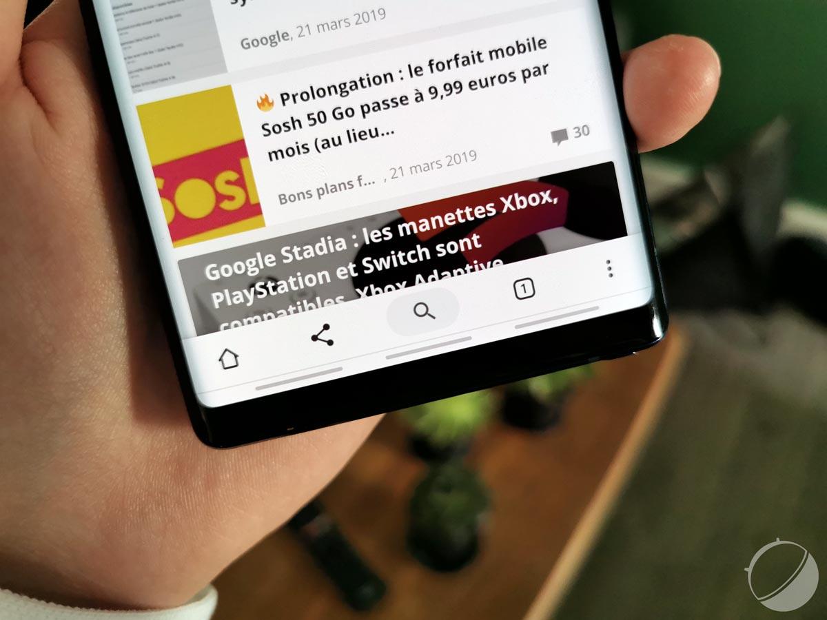 Google Chrome sur Android : la nouvelle interface est en cours de déploiement