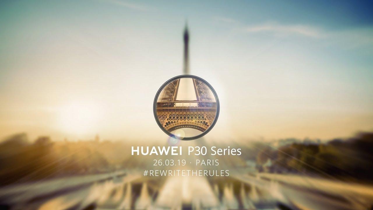 Huawei P30 et P30 Pro : comment suivre la conférence en direct