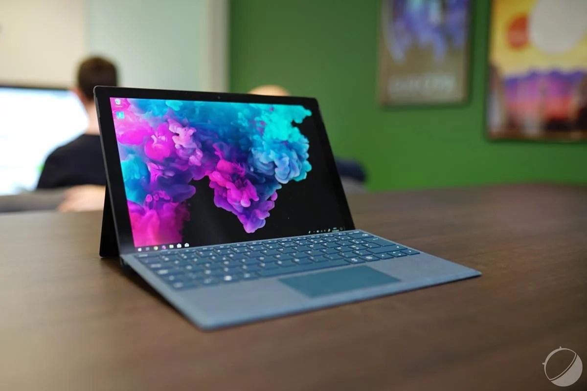 Microsoft Surface : un bug fait mystérieusement perdre 25% de batterie