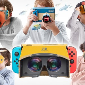 Nintendo Labo Kit VR ou comment une simple idée (et du carton) pourrait révolutionner la réalité virtuelle