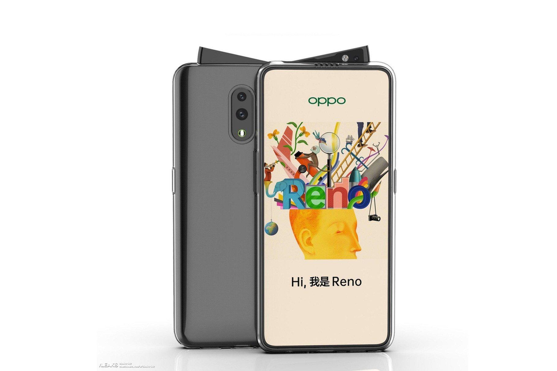 Oppo Reno : l'atypique smartphone en dit plus sur sa fiche technique