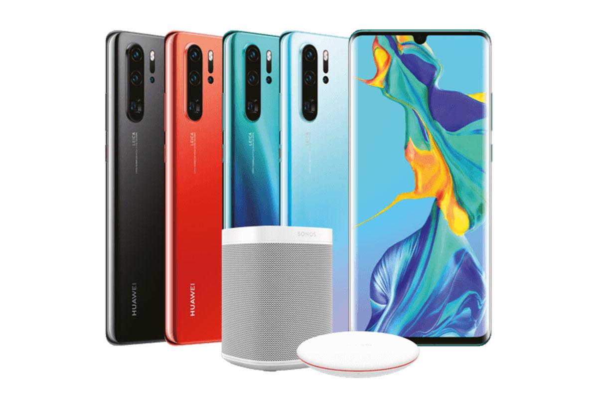 Huawei P30 et P30 Pro : photos et offres de précommande apparaissent déjà sur le site officiel