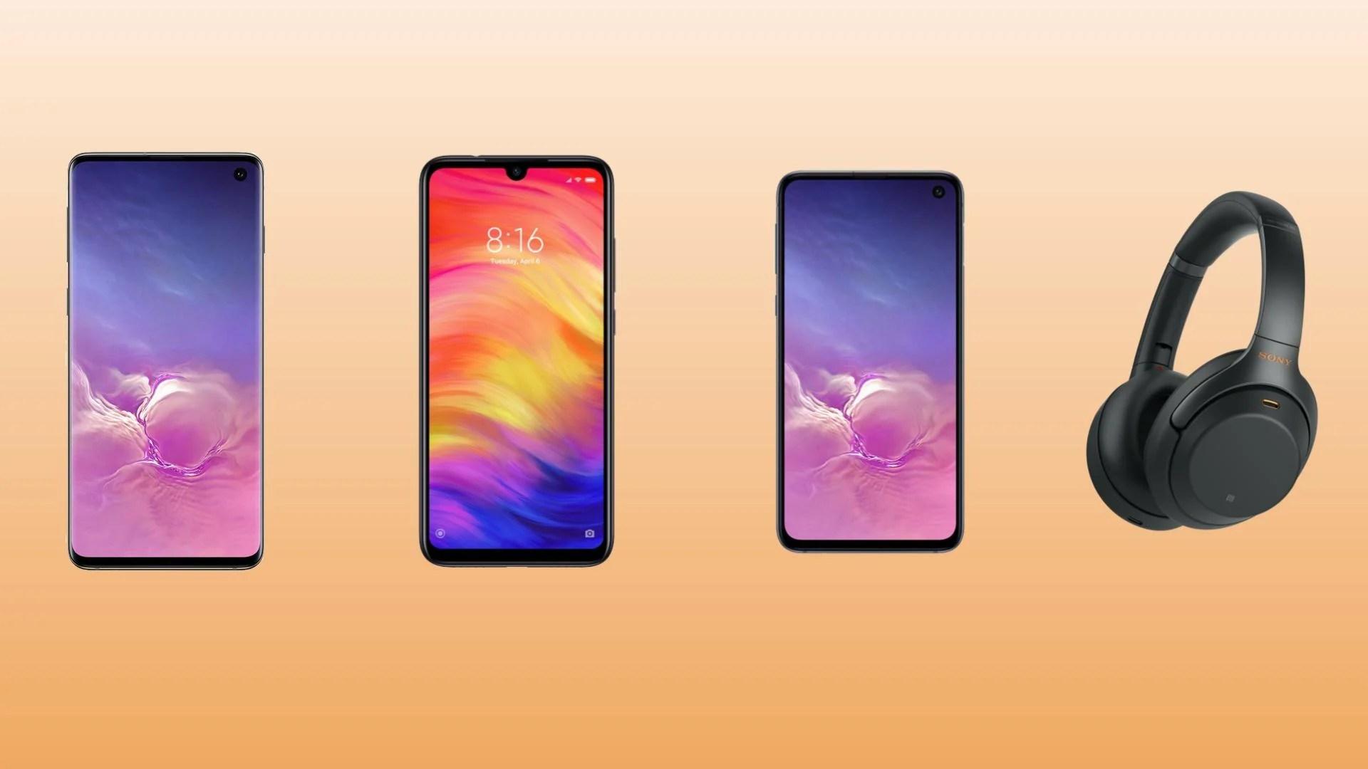 Samsung Galaxy S10 à 688 euros, Galaxy S10e à 585 euros et casque Sony XM3 à 280 euros sur Rakuten
