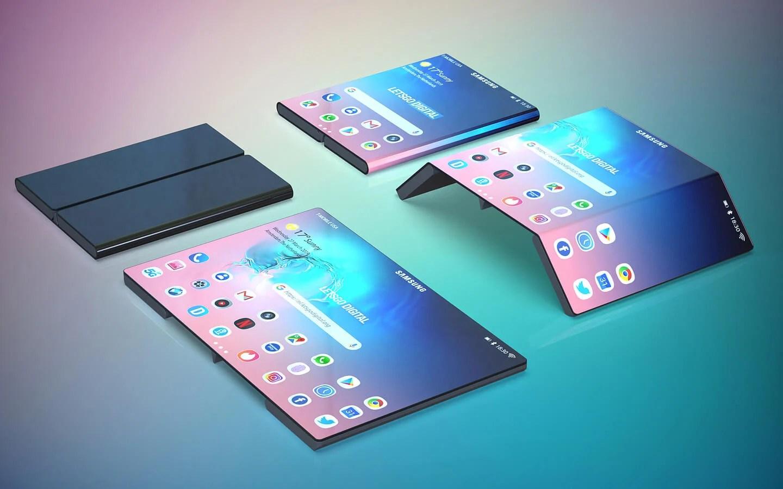 Samsung travaillerait sur un smartphone pliable au même design que Xiaomi