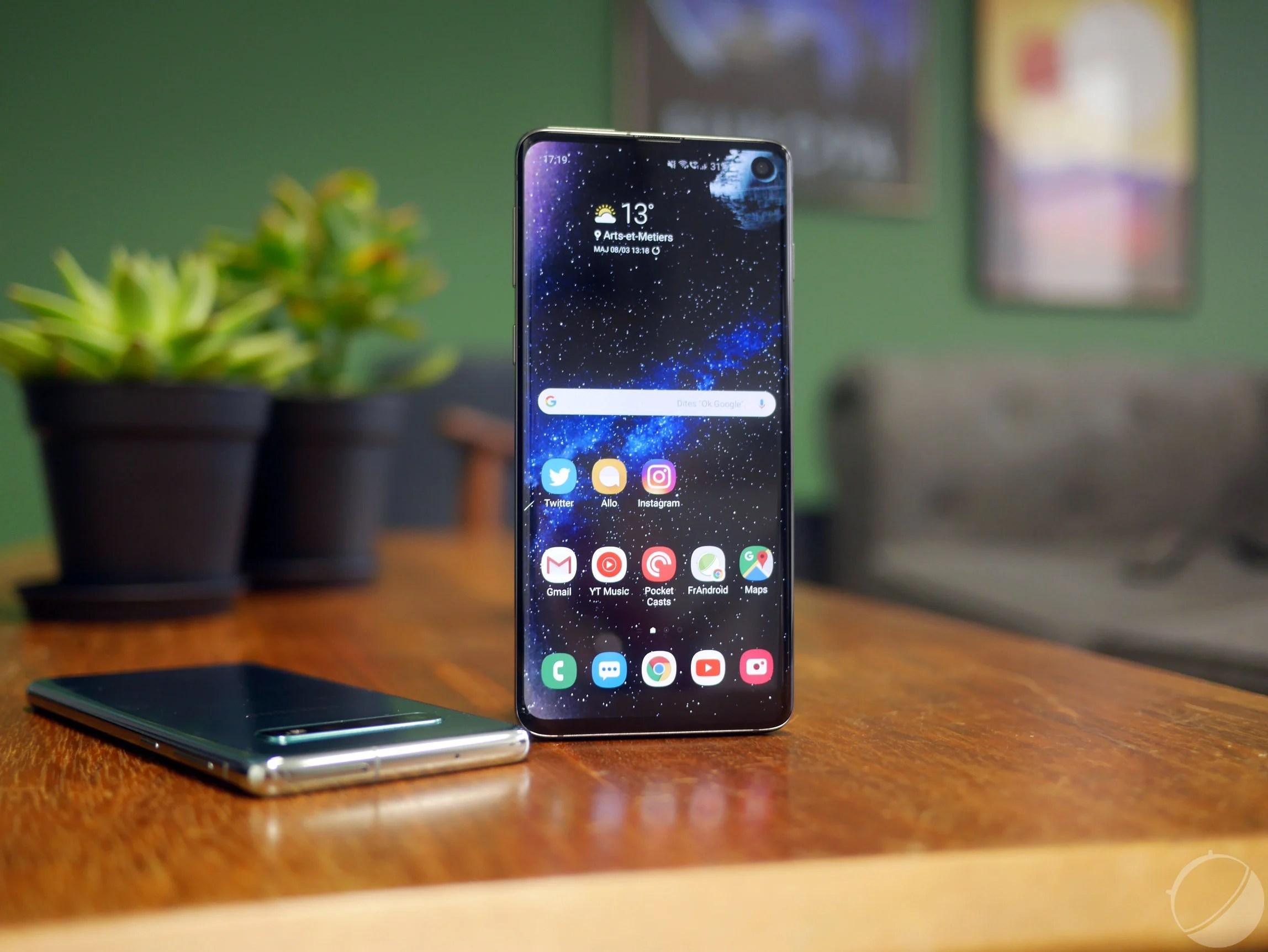 Lecteur d'empreintes du Galaxy S10, coloris du Huawei P30 et mode PC sur Android Q – Tech'spresso