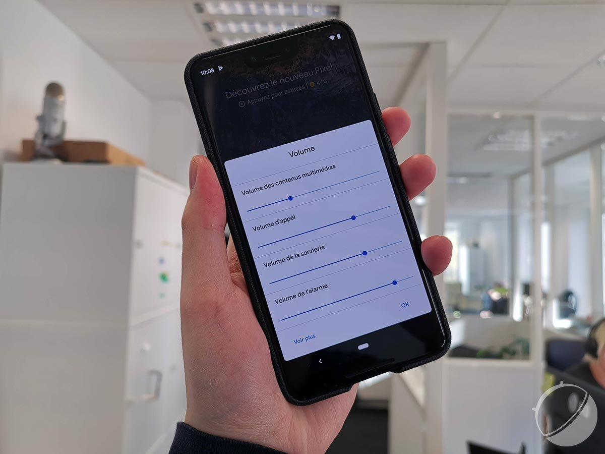 Android 10 Q Bêta 2 : une gestion plus fine et rapide du volume grâce à un raccourci