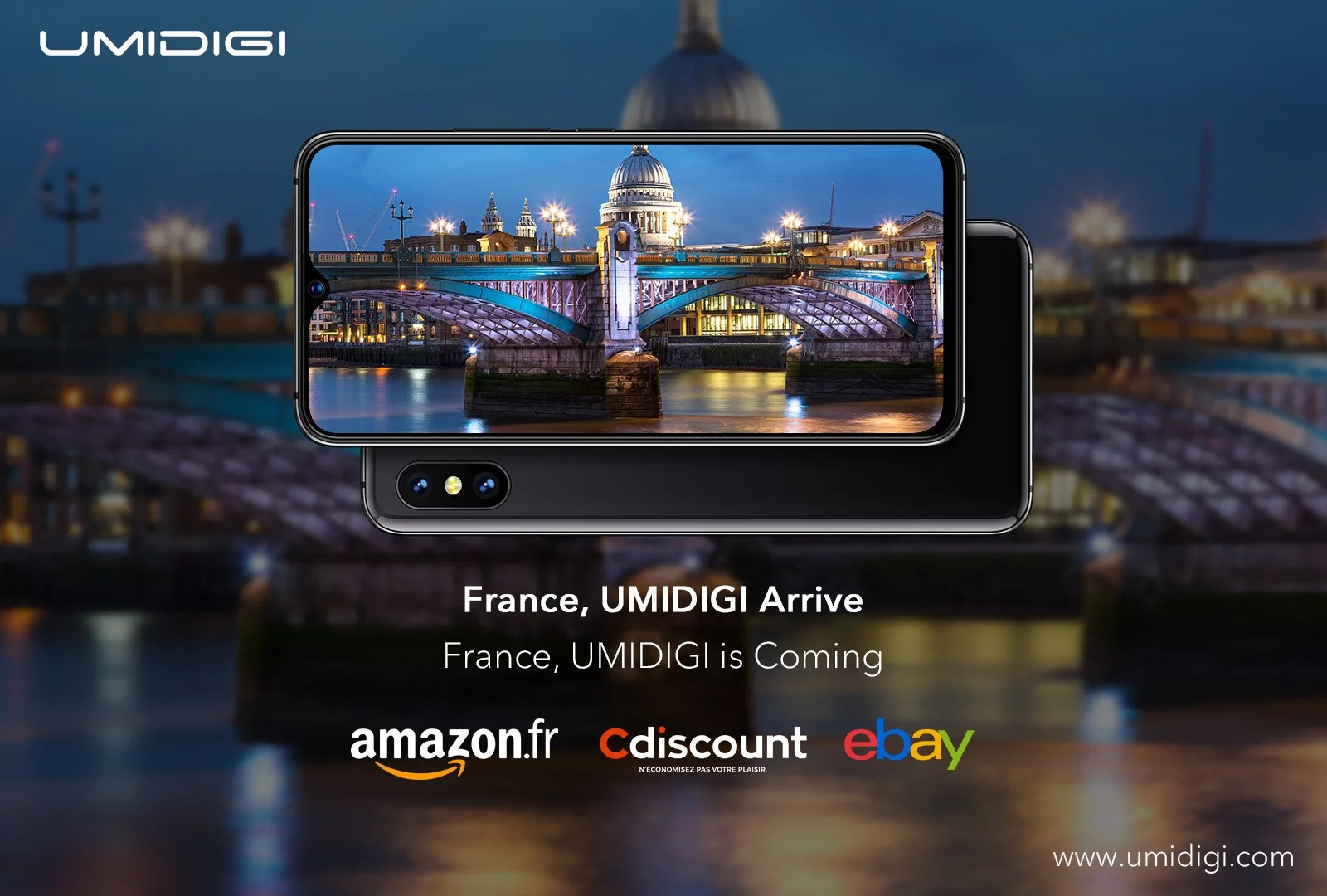 UMIDIGI arrive officiellement en France
