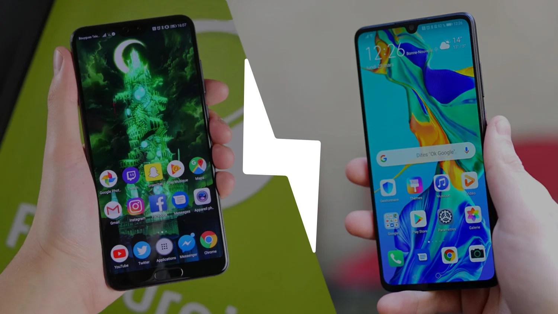 Huawei P30 vs Huawei P20 Pro : lequel est le meilleur smartphone ? – Comparatif