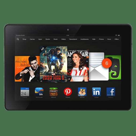 Amazon Kindle Fire – 7 pouces