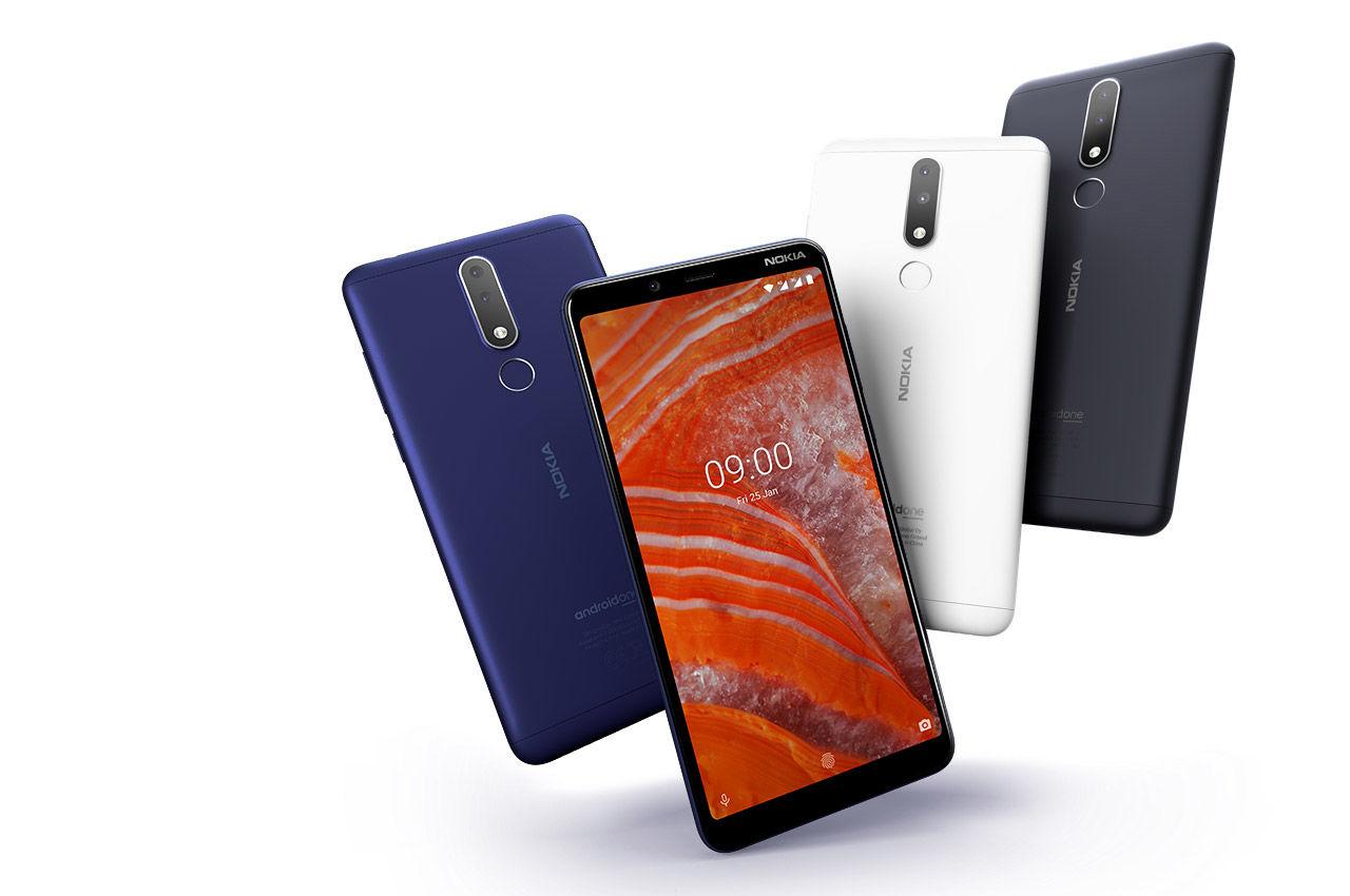 Nokia 3.1 Plus : l'intelligence artificielle accessible grâce à Android Pie