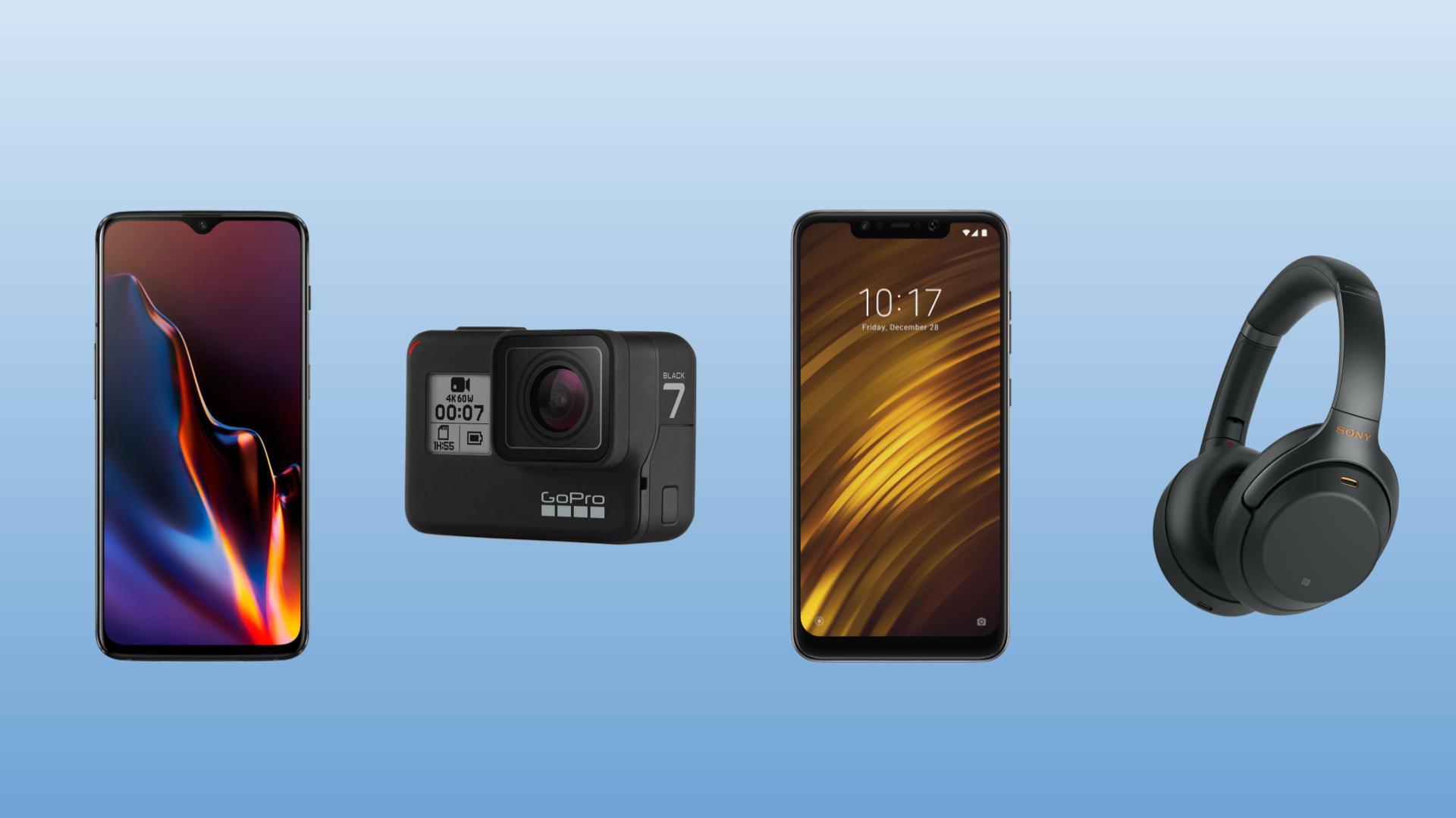 French Days : Pocophone F1 128 Go à 270 euros, casque Sony 1000XM3 à 256 euros et GoPro Hero 7 Black à 289 euros