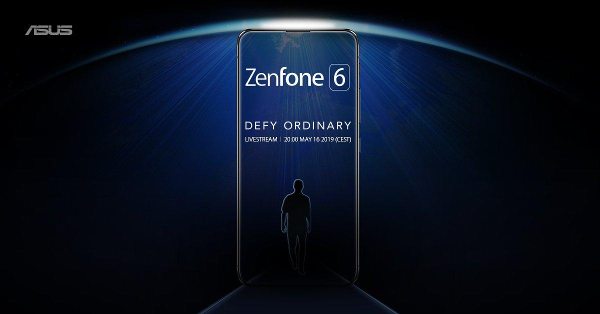 Asus Zenfone 6 : aucune encoche en vue, date et heure de présentation (re)confirmées