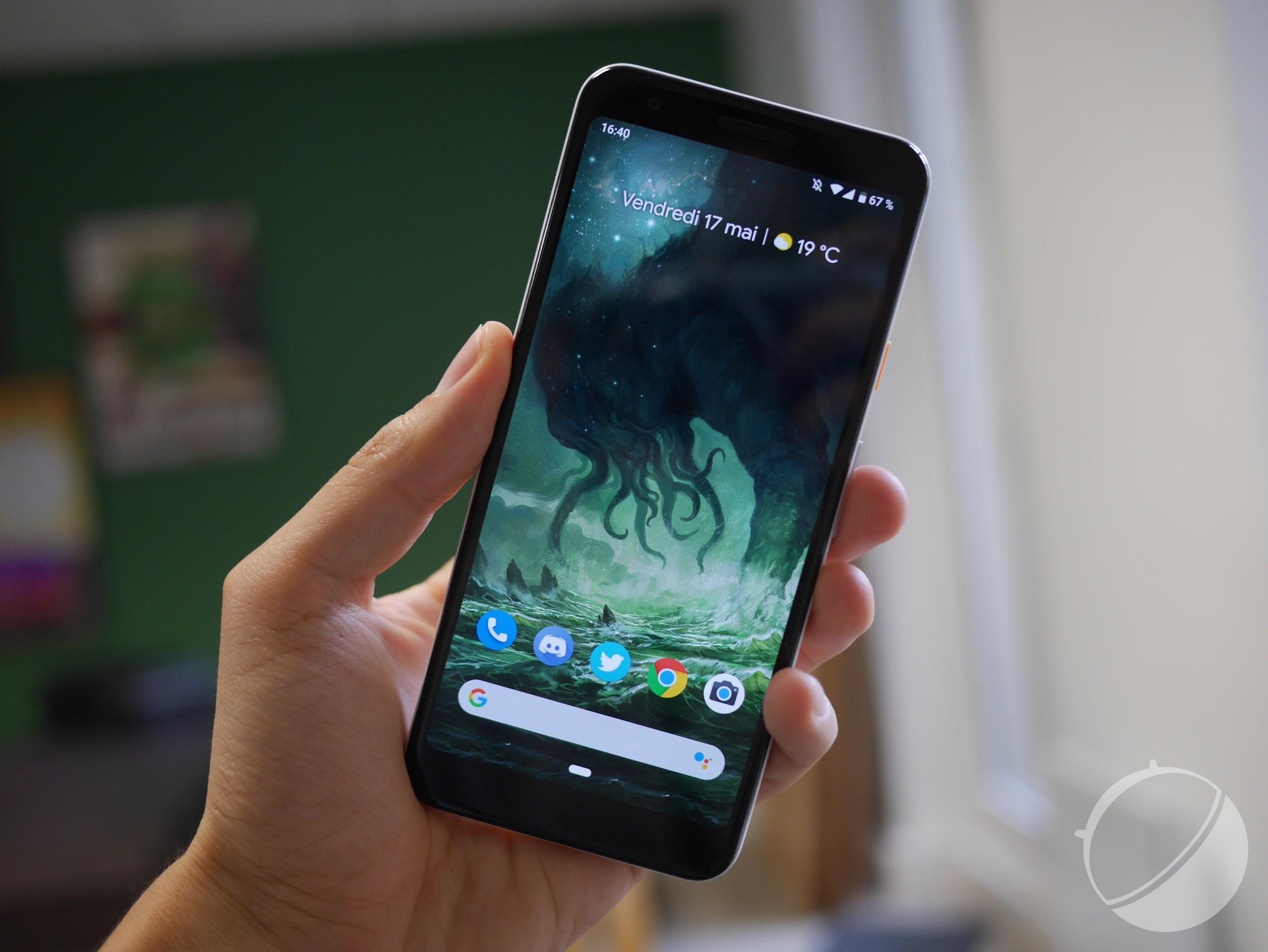 Android 10 Q : les Google Pixel pourraient profiter d'un moteur de thèmes