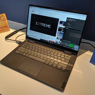 Nous avons vu le premier PC 5G au monde, avec son Snapdragon 8CX prometteur