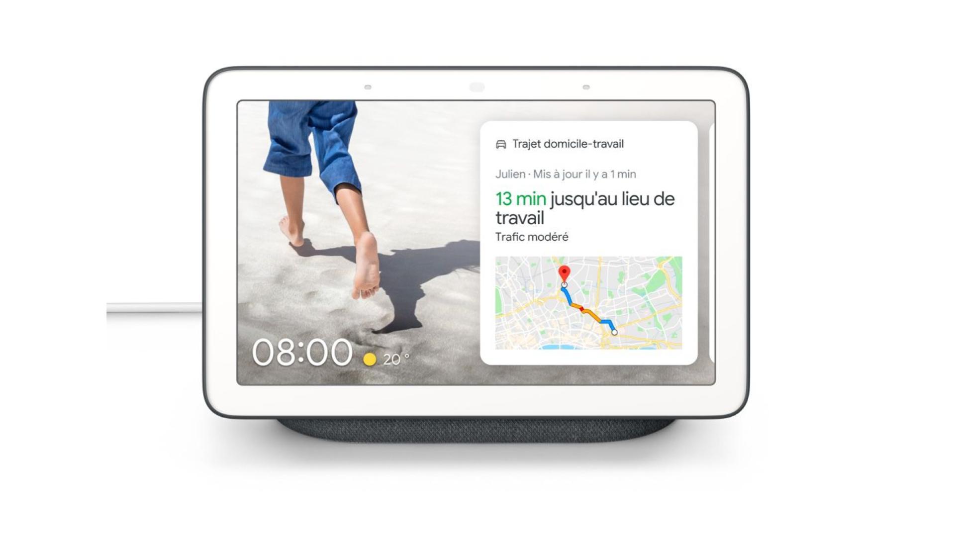 Le Google Nest Hub disponible en France et déjà en promo avec une ampoule ou un Chromecast offert