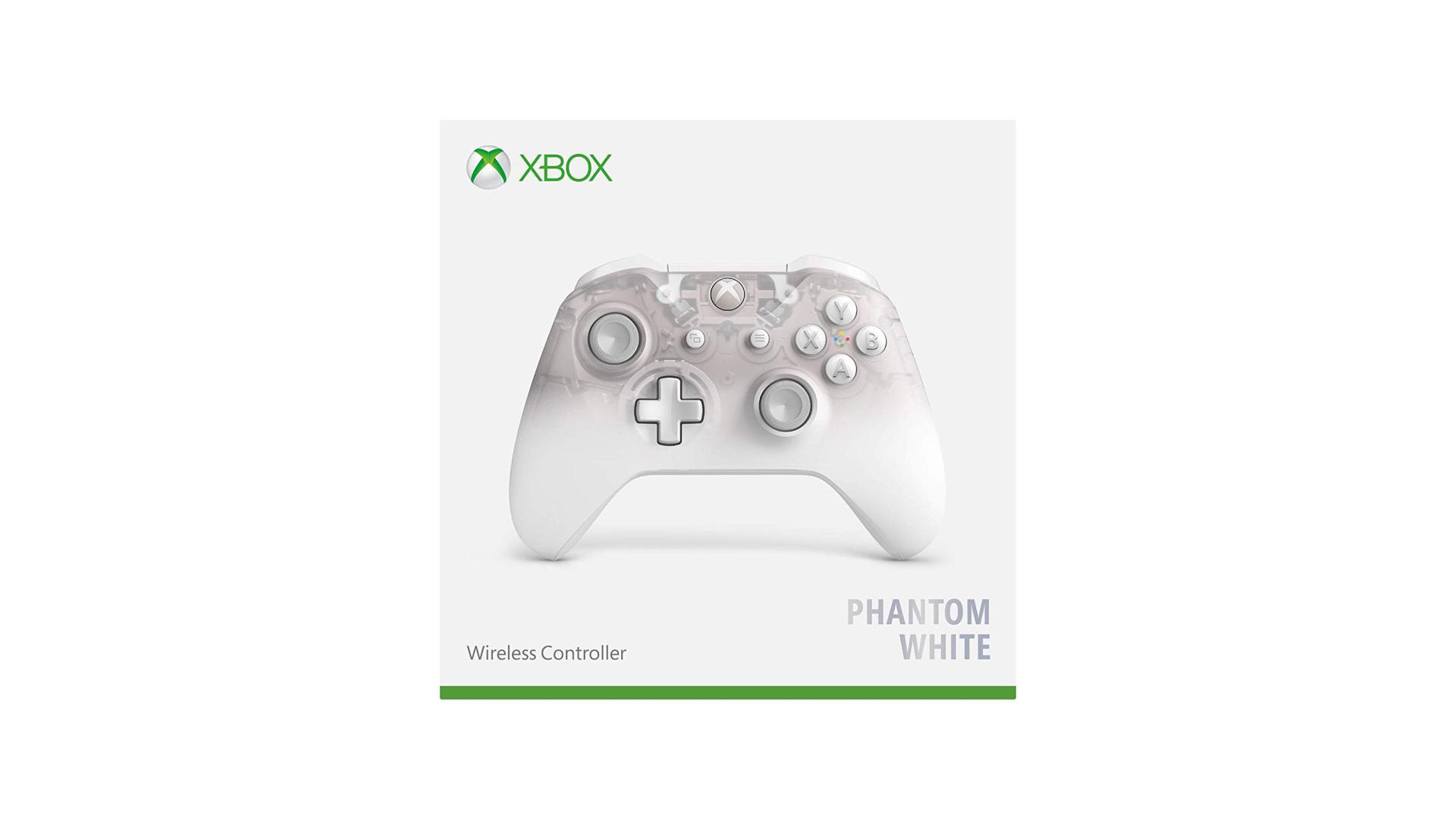 Petit prix, chouette design : la manette sans-fil Xbox One Phantom White en promo (elle est compatible Android)