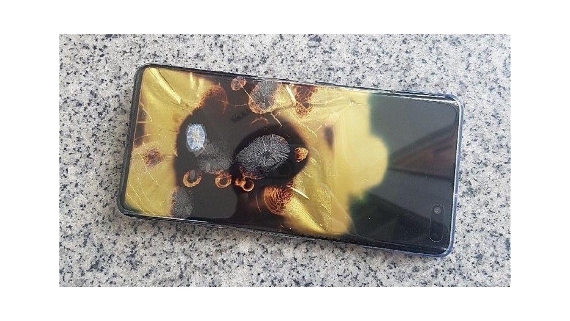 Samsung Galaxy S10 5G : cette histoire d'incendie qui tombe au mauvais moment