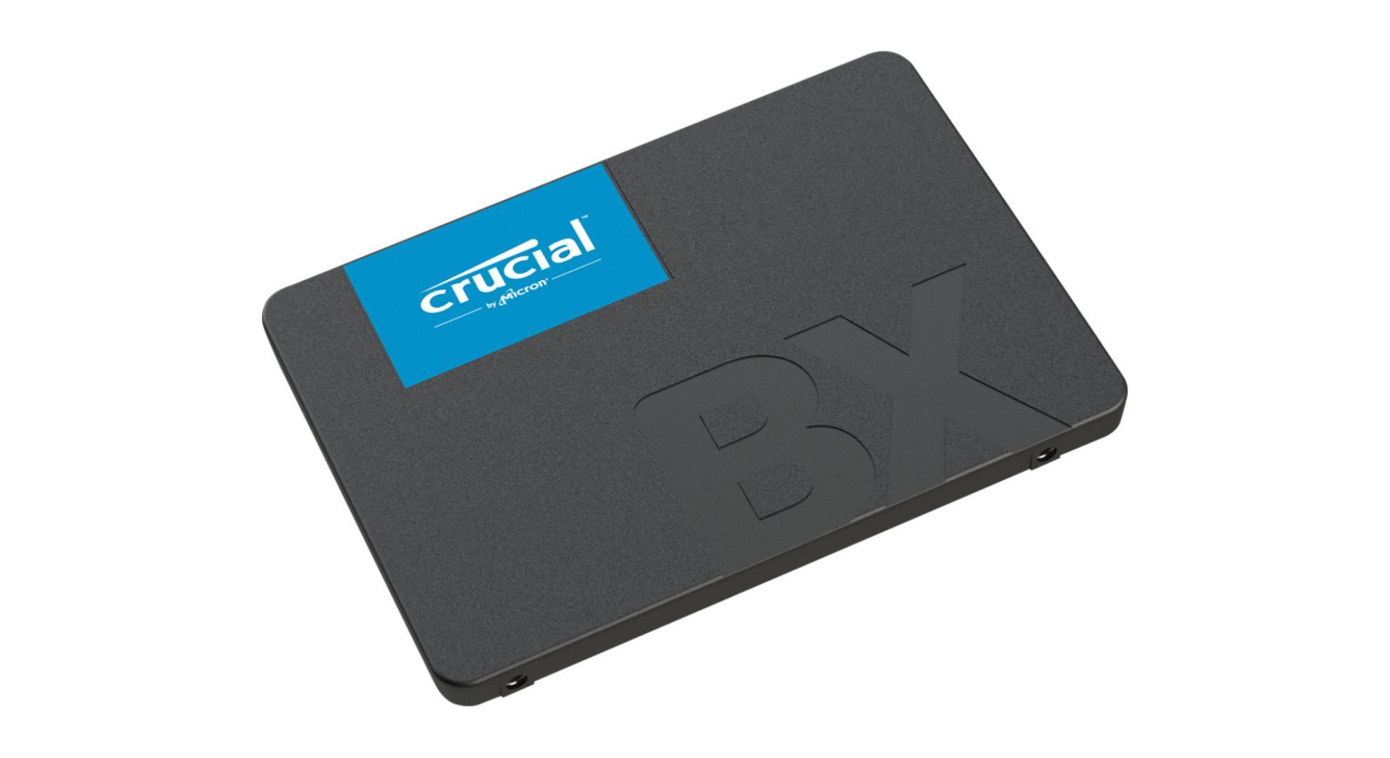 🔥 Bon plan : 4 SSD Crucial (120, 240, 480 et 960 Go) à partir de 20 euros sur Amazon