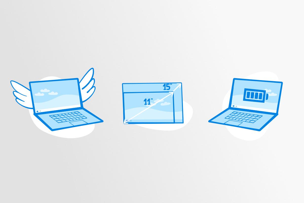 Infographie : Quels sont les critères à prendre en compte avant d'acheter un PC à moins de 500 euros ?