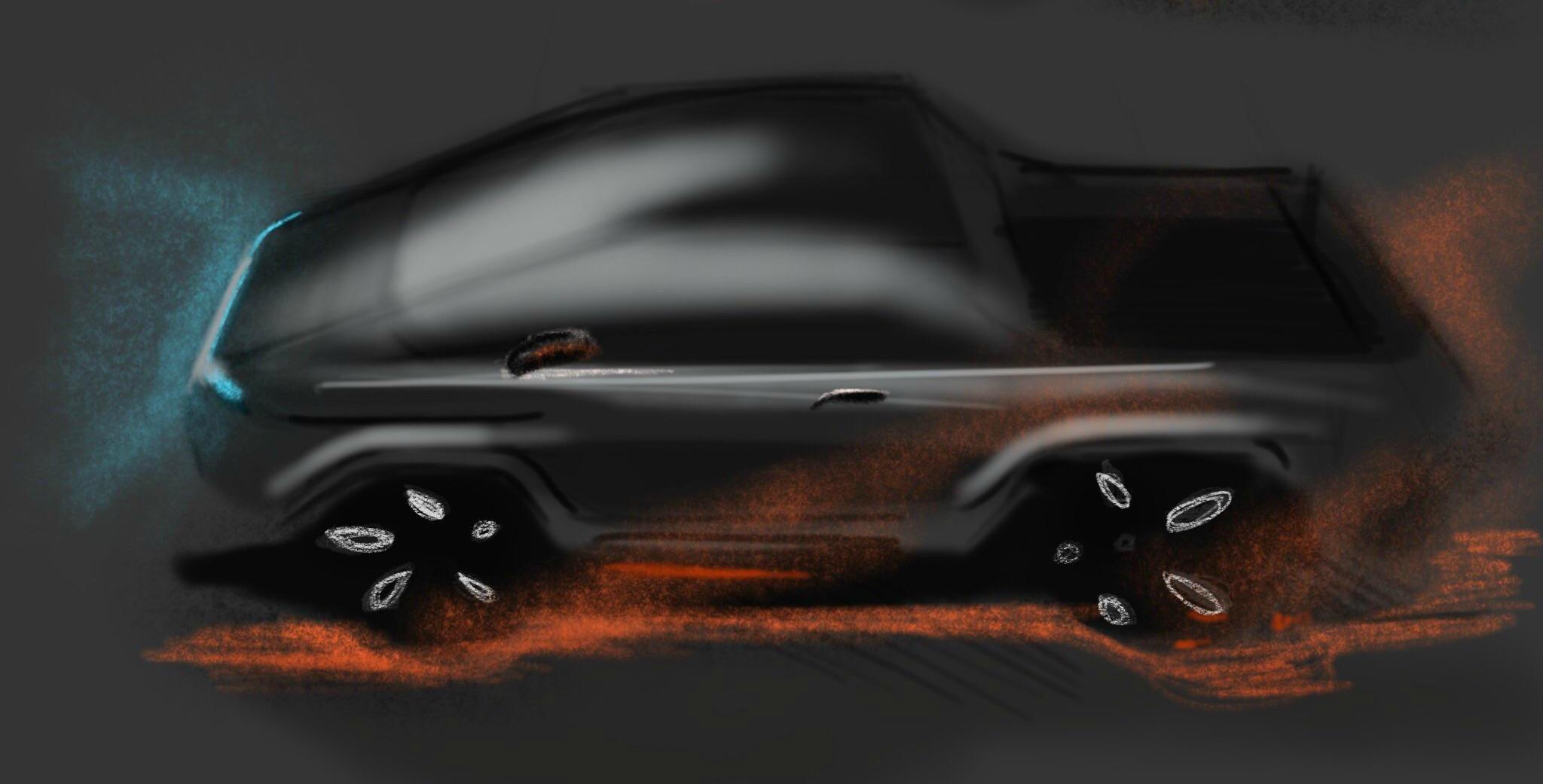 Des fans imaginent le design futuriste du pick-up Tesla, alias le «Cyberpunk Truck»